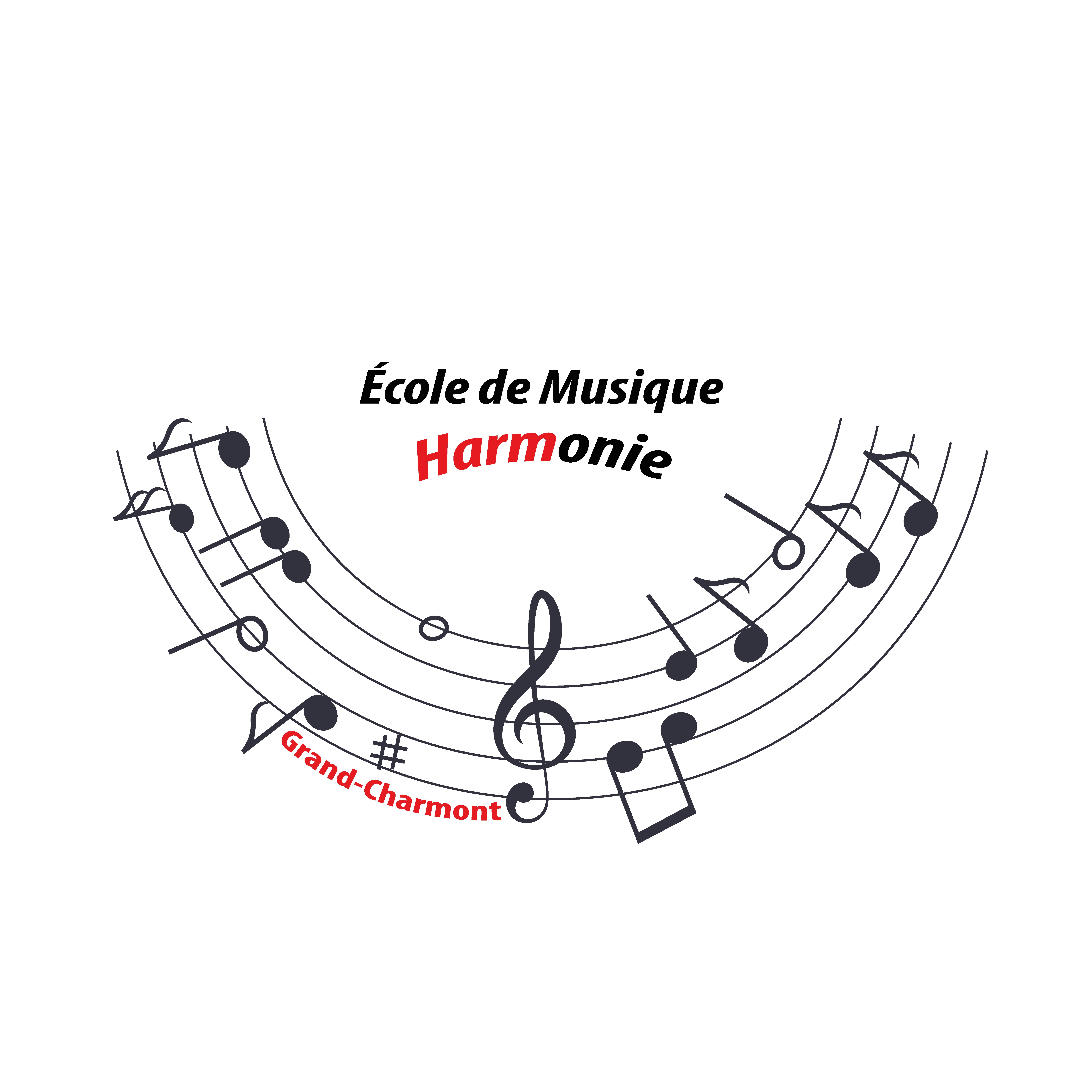 Création de logo pour l'École de Musique de Grand-Charmont